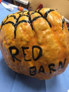 Red Barn pumpkin